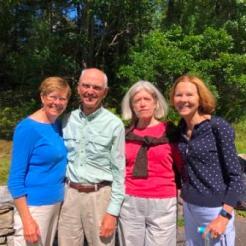 Suzanne, Gus, Donna & Diane