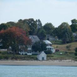 Houses on Peaks Island