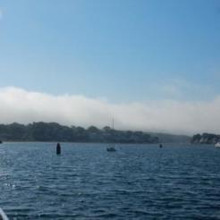 Annisquam River - fog ahead