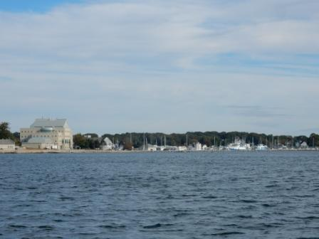 Approaching Shennecosette Yacht Club