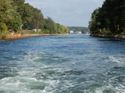 turbulance in Point Pleasant Canal