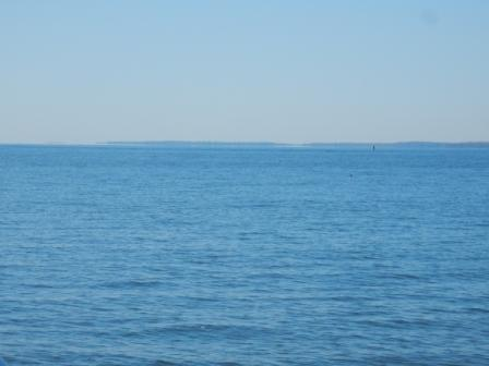 Calm day on Chesapeake Bay