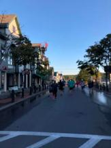 Start of Bar Harbor Half Marathon