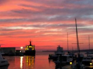 Sunrise in Rockland Harbor