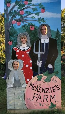 Judy, Claire & John at McKenzie's Farm