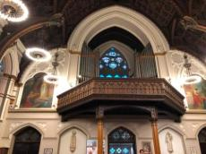 St Mary's pipe organ