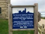 Beavertail Lighthouse Museum Signage
