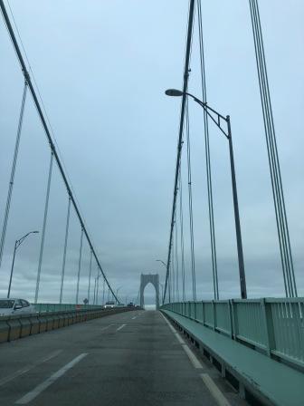 Clairborne Pell Bridge - To Newport