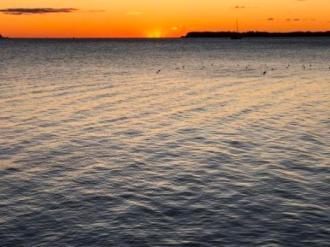 Sunrise over the Chesapeake