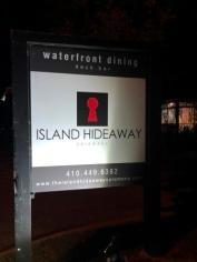 Island Hideaway Signage