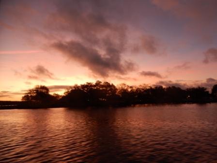 Sunrise over Poquoson