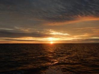 Sunrise on the Alligator River