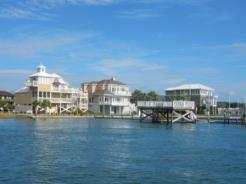 Houses on Bogue Sound