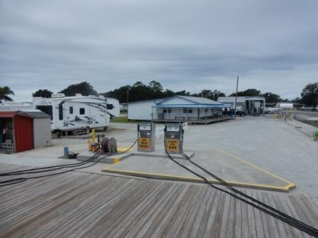 At New River Marina Fuel Stop