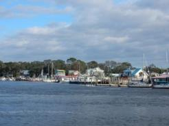 Boats in Southport