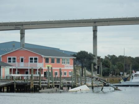 Wreck in Holden Beach - still there