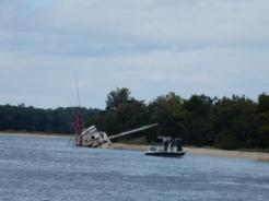 Wreck near Little River Inlet