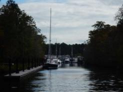Entering Osprey Marina