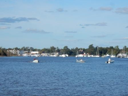 Approaching Georgetown Harbor