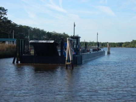 Bridge barge