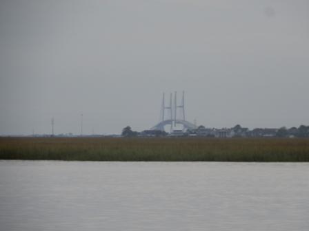 Sidney Lanier Bridge at a distance