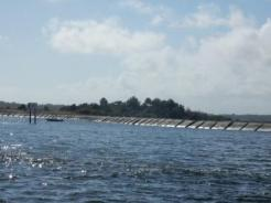 Wake barrier - south entrance to ICW