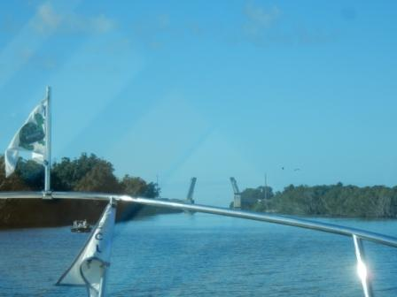 Entering Haulover Canal