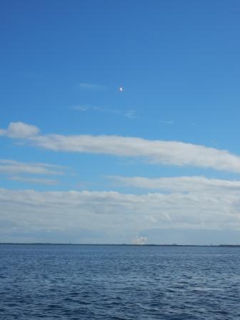 Falcon 9 Rocket lift off