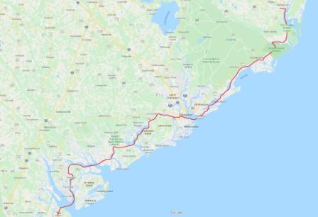 Georgetown to Hilton Head