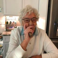 Cathy's mom Joan