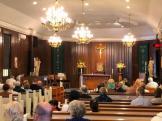 Inside St. Therese Catholic Church