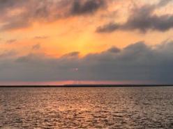 Sunset from marina