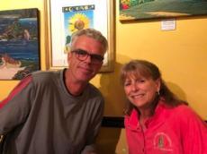 John & Claire At Gypsy Cab Company