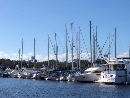 At Halifax Harbor Marina